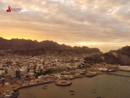 Aden at sunset by CoderAdenPhotographe