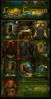 Gypsy Caravan backgrounds by moonchild-ljilja