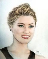 Amber Heard by MohammadMirzaee