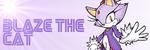 Blaze the Cat Banner by Elaine-Guybrush