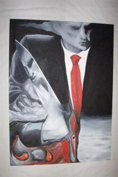 American Psycho by Dickens-Art