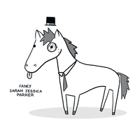 Fancy Sarah Jessica Parker by arseniic
