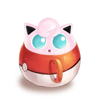 Jigglypuff in a Cup by LunaShadow