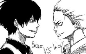 Blood lad - speed drawing by Dacara