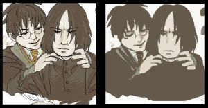 Hello there, professor Snape by koenta