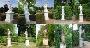 Antique Statues Of Women pack by Comacold-stock