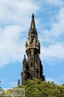 Edinburgh Scott Monument by stphq