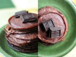 Chocolate pancakes by brunettitude