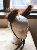 Highland cow ears by lupagreenwolf