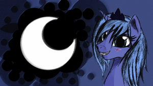Luna Wallpaper by malamol