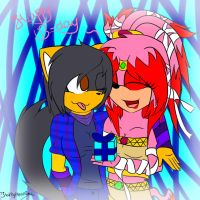 .:Kathy and Michelle-Happy B-day:. by Kathy-the-echidna