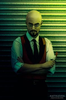 Bluebeard Cosplay - The Wolf Among Us by Matteleven