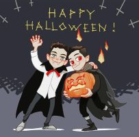 Happy Halloween! by Hallpen