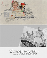 2 Large Textures by s3cretlady