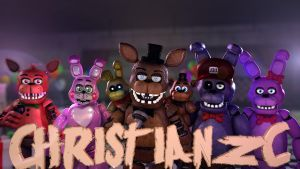 [C4D-FNAF] New banner by christianzc