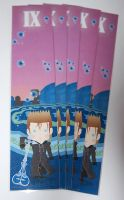 kingdom hearts Demyx bookmark by knil-maloon