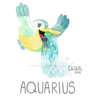Pokemon Zodiac - Aquarius by CuteSkitty