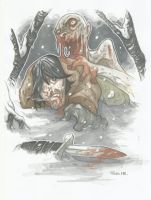 DARYL DIXON WINTERS TALE teaser 2 by leagueof1