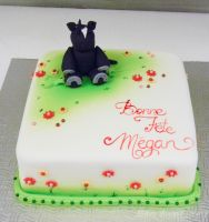 Little horsey cake by buttercreamfantasies