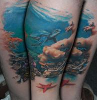 An Underwater Scene 2 by allentattoo