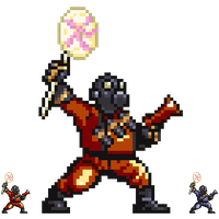 TF2 Pyro - Pixel art by DrClosure