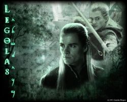 Legolas Wallpaper by Elflover21