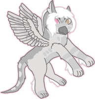 Hatched Gryphon Chick 4 by KittehzAdopts