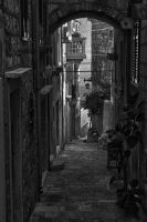 Streets  of  Korcula by CitizenFresh