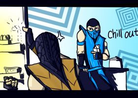 chill out scorpion! by LazyFOOL777