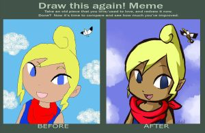 Draw this Again Meme by Linkerbell