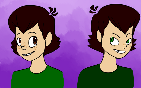 Human! Newbie and Nooby by CrazyChrissie101