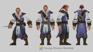 Young Rhonin Redhair by Vaanel