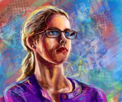 Felicity Smoak by tlo001