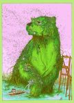 Green Algae Bear by UlisesFarinas