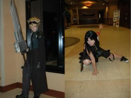 'Advent Children' - Final Fantasy VII Cosplay by OxfordCommaCosplay