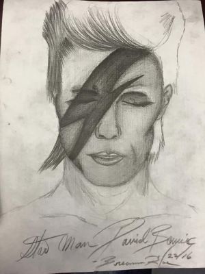 David Bowie by breanna223