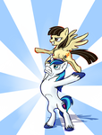 MLP Birthday: Sibsy and Andrew by Wolframclaws