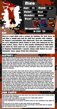 Splatoon OC Profile Red Kenoski [Updated] by LizzietheRatcicle