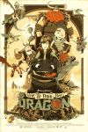 how to train your Dragon epic movie poster by queenElsafan2015