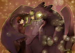 HTTYD + Fireflies by RainbowBile