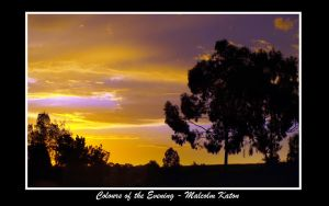 Colours of the Evening by FireflyPhotosAust