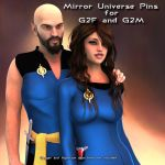 Mirror Universe Pins for G2F and G2M by PDSmith