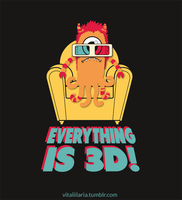 Everything is 3d and I can't see! by YaYaOo