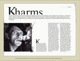 Kharms biography by Snowroll