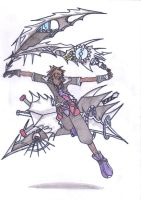 Sora Annihilation Form by pure-evil257