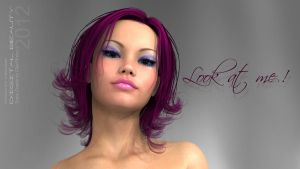 Digital Beauty Series - Look at me ! by Digital-Beauty-Serie