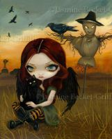 The Scarecrow by jasminetoad