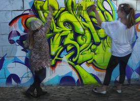 Graffiti Girls by Francinexxx