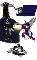 tiny Starscream misadventures 1 by rabbitzoro