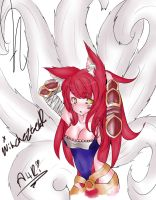 My Ahri by JSLAYER1995